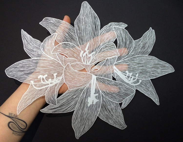 Flowers maude white all work is cut by hand by maude white mightylinksfo