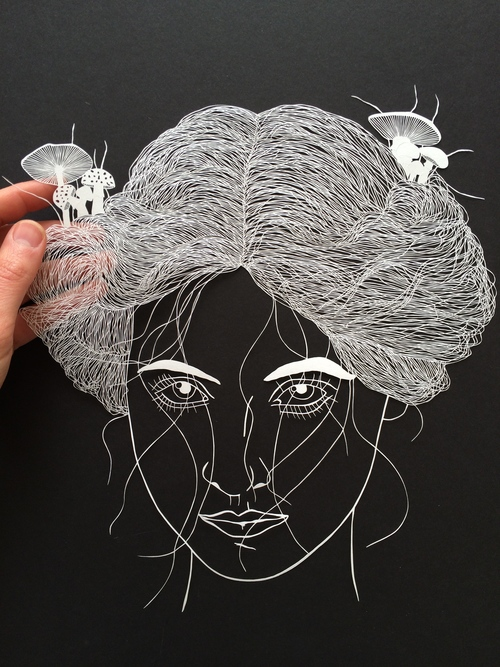 Maude White Great Paper Cut Artist #artpeople