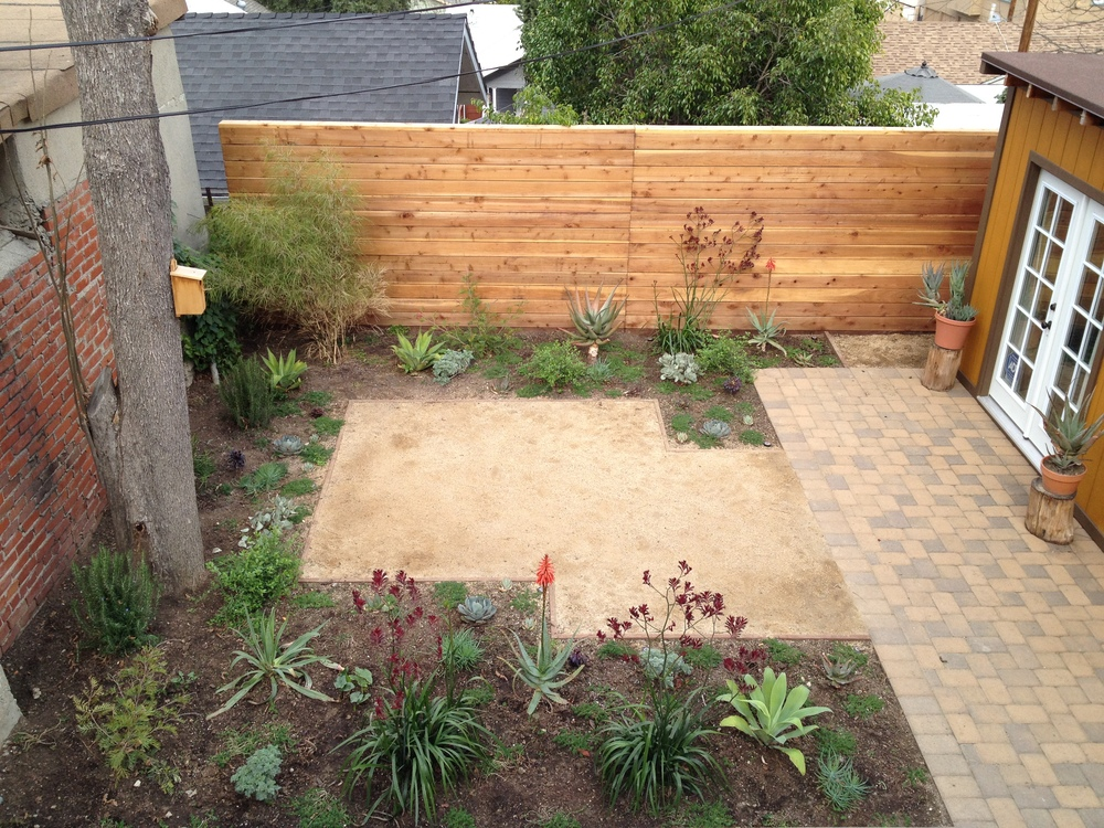 Backyard after.