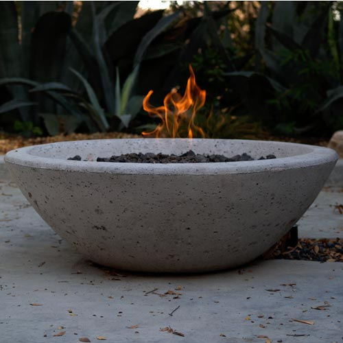 And a fire pit - because we know, fires ALWAYS get the party started.