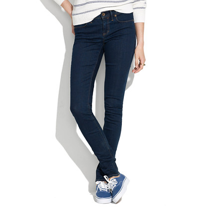 A pair of skinny jeans.  These are from  Madewell .