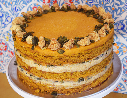 Milk Bar's Pumpkin Pie Cake - Christina Tosi has my heart!