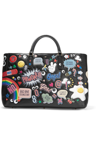 Anya Hindmarch bag via  Net-A-Porter