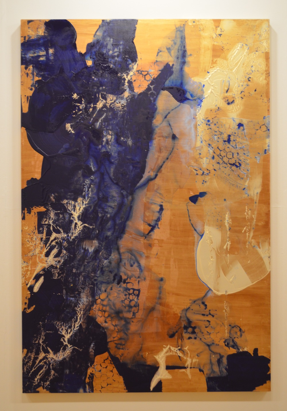 11. Subliminal Wash, Natasha Shoro, 72 x 48 inches, $6,500