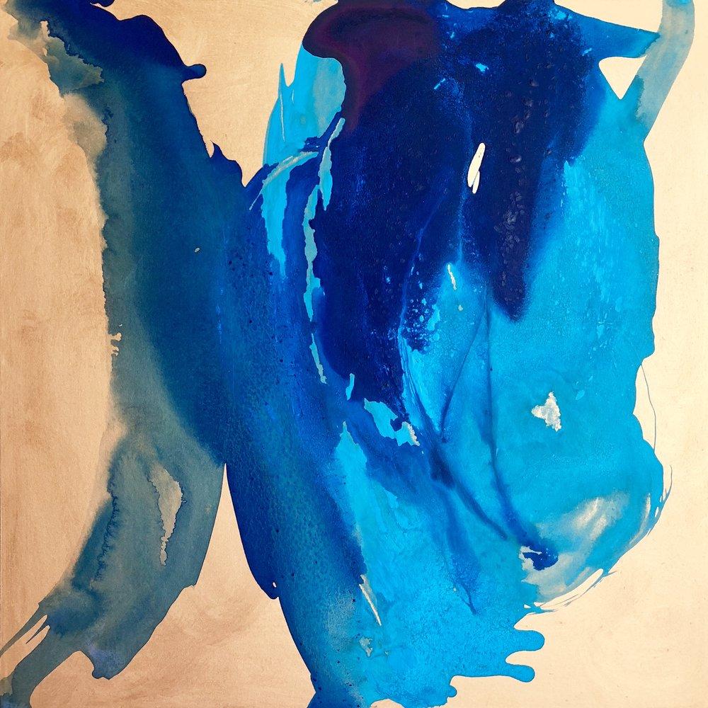Blue Petals, 2018