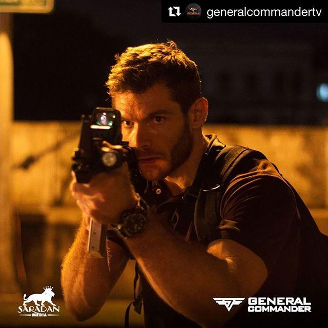 Ben Harrison means business!  @generalcommandertv ・・ #generalcommander #GCTV #gctvseries #BenHarrison #action #drama #mystery #2018