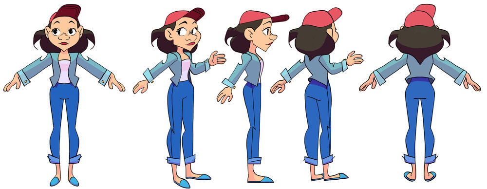 A turn around of Dylan. Shes appears confident but also carries a lot of self doubt inside her.