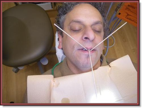 Andy at dentist