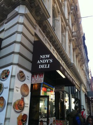 Andy's Deli for blog