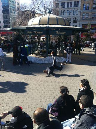 Street performer 2 NYC