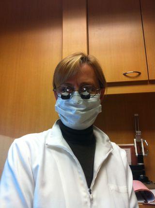 Dentist Susan Carlson