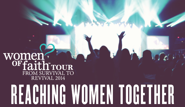 "USE THE CODE ""THRIVE20"" FOR $20 OFF YOUR TICKET TO A WOMEN OF FAITH EVENT! READ HERE FOR MORE INFO"