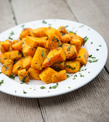 Butternut Squash with Cumin and Cilantro
