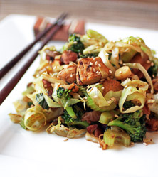 Chicken and Vegetable Lo Mein by Bill Staley and Hayley Mason