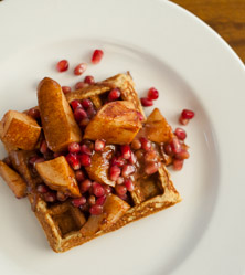 Coconut Flour Waffles by Cara Comini