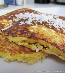 Coconut Griddle Cakes by George Bryant