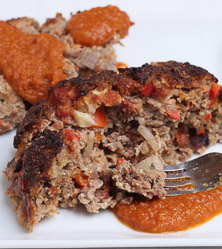Fire Roasted Bacon Meatloaf by George Bryant