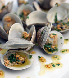 Garlic Grilled Clams by Bill Staley and Hayley Mason