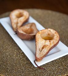 Ginger Baked Pears