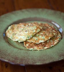 Italian Zuchinni Pancakes