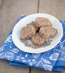 Lavender Hazelnut Cookies