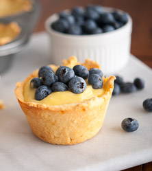 Lemon Blueberry Pies