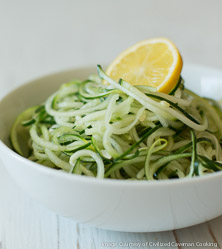 Lemon Cucumber Noodles with Cumin by George Bryant
