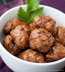 Merguez Meatballs by Melissa Joulwan