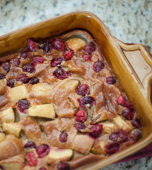 Pear Cranberry Clafoutis by Sarah Smith