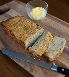 Plum Cardamom Quick Bread