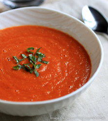 Tomato and Basil Soup by Bill Staley and Hayley Mason