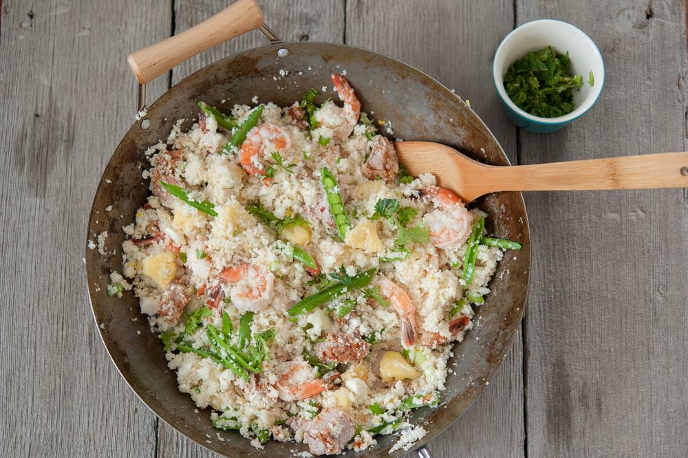 Fried Cauliflower Rice
