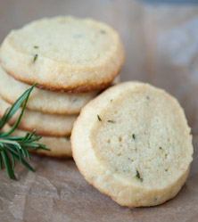 Rosemary Shortbreads