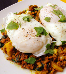Samosa Breakfast Hash