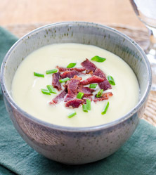 Cauliflower Celeriac Soup