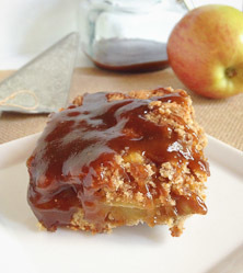 Caramel Apple Pie Bars by Vanessa Barajas