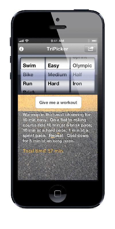 TriPicker iOS App for iPhone