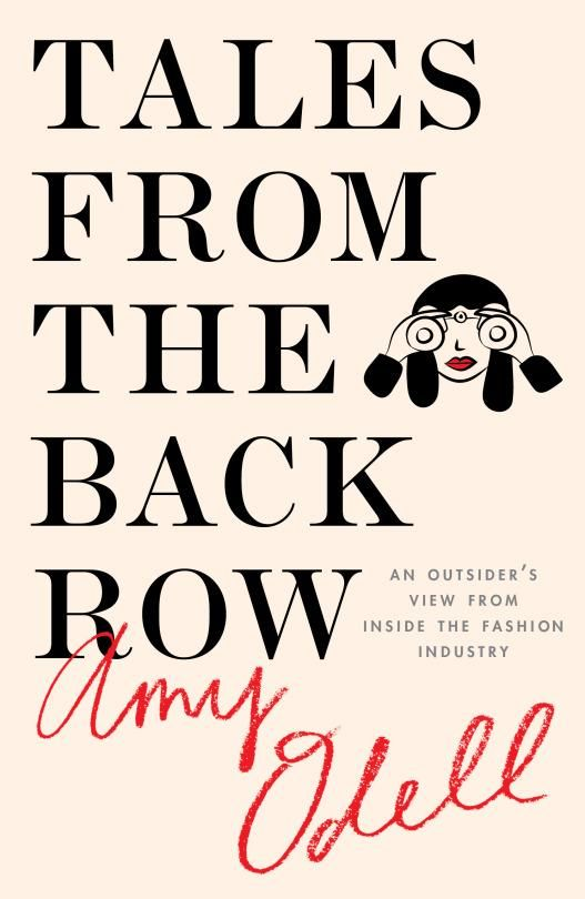 Amy Odell's new book, Tales from the Back Row. (Photo: Simon & Schuster)