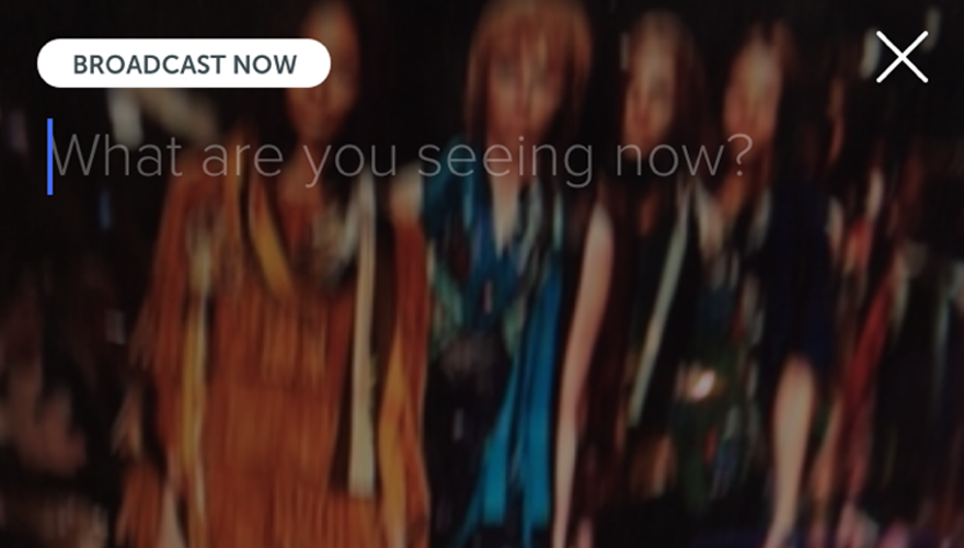 Periscope is set to be the hot app this fashion week