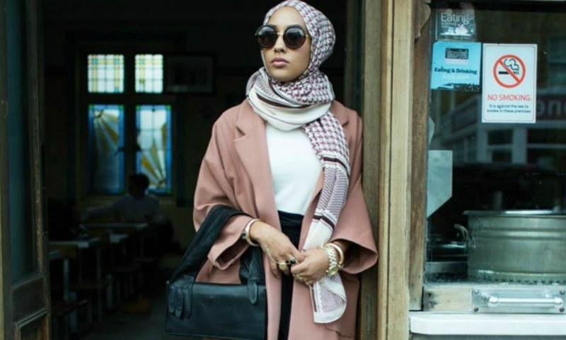 Muslim Model Mariah Idrissi for H&M