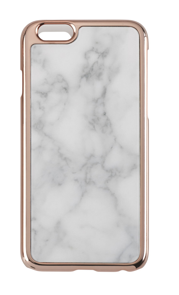 Samantha Wills Marble and Rose Gold Case, $49.95