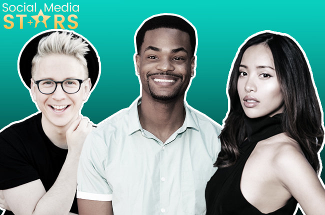 Social Media Stars: Tyler Oakley, King Back, Michelle Phan & more! Courtesy (2); Getty Images