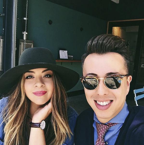 Mr. Scott with fiancée Ashley. (Photo: Instagram/Blake Scott)