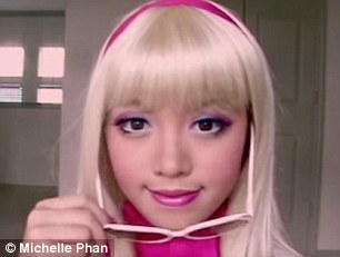 Starting out: Michelle Phan started out making make-up tutorials on YouTube in 2007 and quickly began to gain a devoted online following
