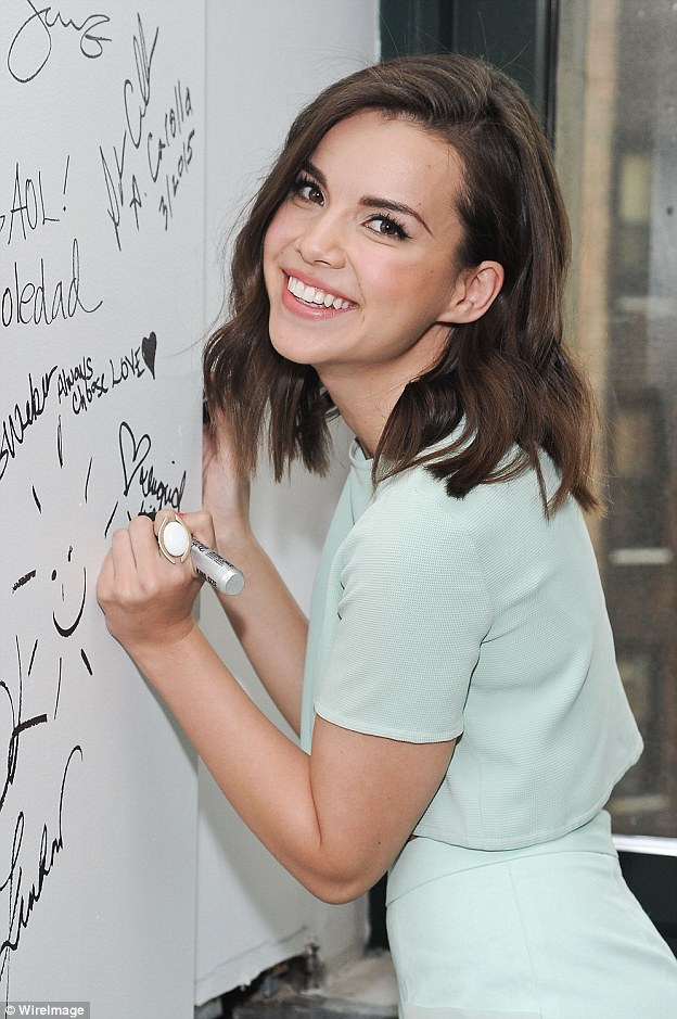 Inspired: Lifestyle vlogger Ingrid Nilsen recently came out as gay in a touching 19-minute video on her page, which subsequently gained more than 12 million views