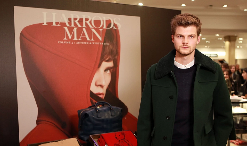 Vlogger Jim Chapman attends the Burberry & Harrods Style Event Photograph: David M. Benett/Getty Images for Harrods