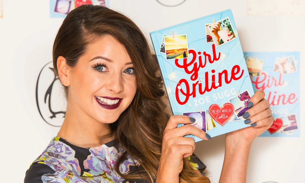 "YouTube star Zoe Sugg, aka Zoella, admitted she had ""help"" writing her record-breaking book. Photograph: Dominic Lipinski/PA"