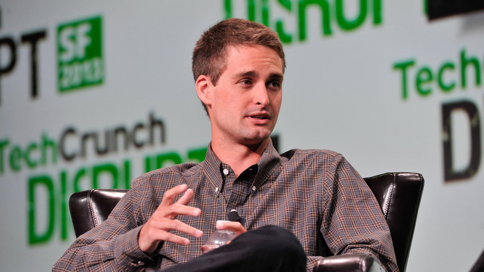 Evan Spiegel, Snapchat co-founder and chief executive