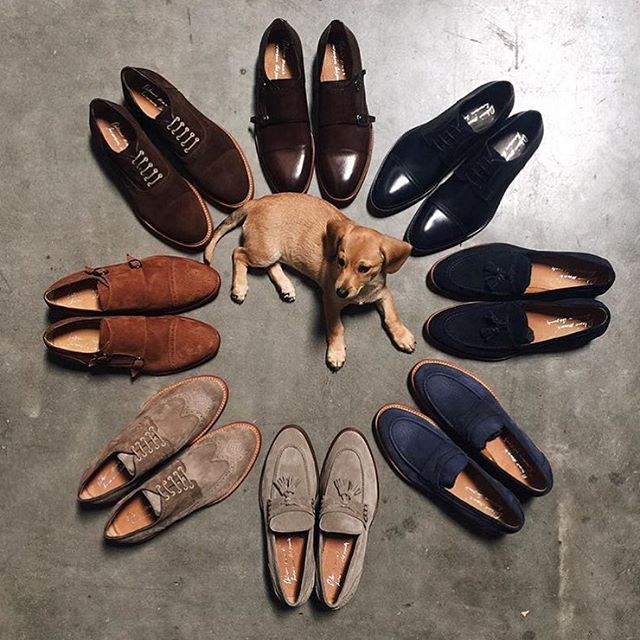 <i>Shoe Flat Lays</i>
