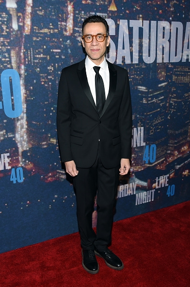 NEW YORK, NY - FEBRUARY 15: Actor Fred Armisen attends SNL 40th Anniversary Celebration at Rockefeller Plaza on February 15, 2015 in New York City. (Photo : Larry Busacca/Getty Images)